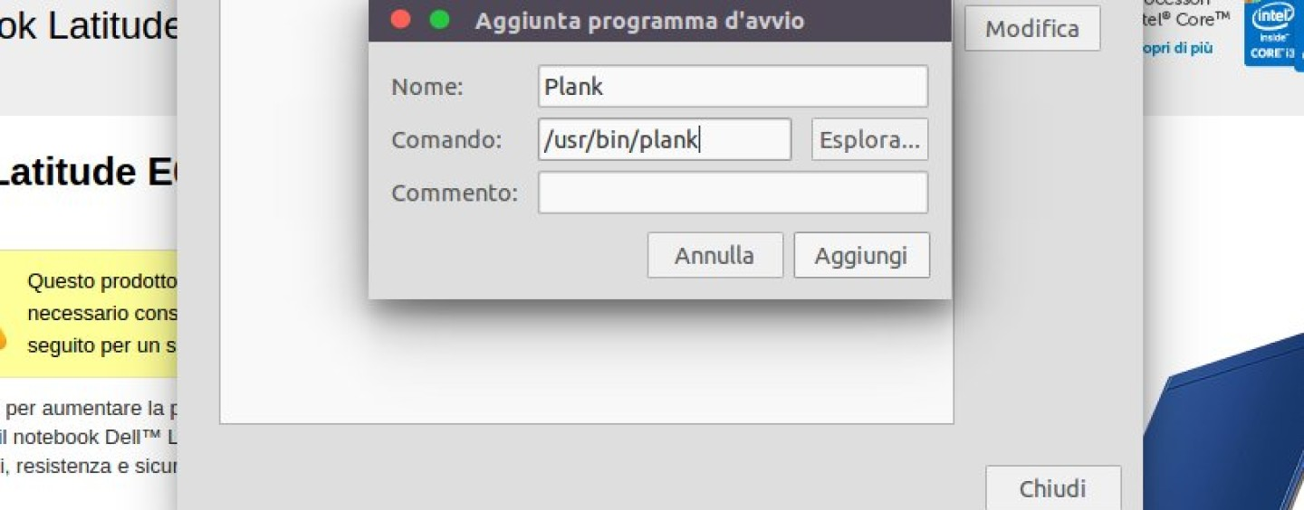 Ubuntu: Plank una dock alternativa