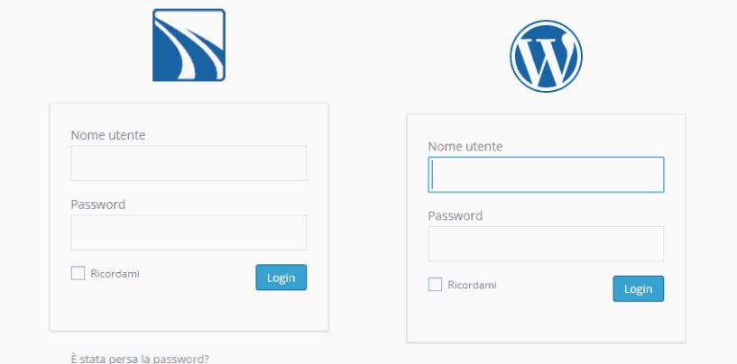 Cambiamo l'immagine alla Login di WordPress