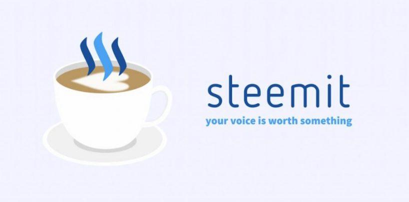 Steemit: il social network (che paga) nella blockchain
