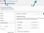 WordPress: Link del menu in nuova finestra.