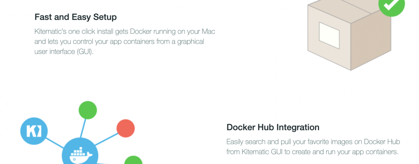 Kitematic: Docker in ordine