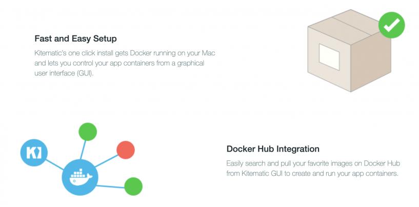 Kitematic: Docker in ordine