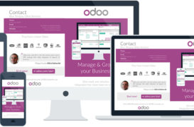 Odoo: pagine/menu private in qweb