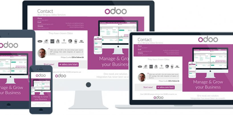 Odoo: pagine/menu private in qweb